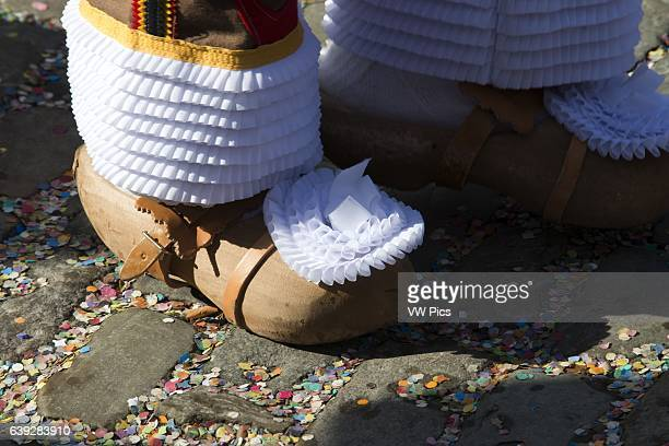 Clogs for the Binche Festival The carnival of Binche is an event that takes place each year in the Belgian town of Binche during the Sunday Monday...