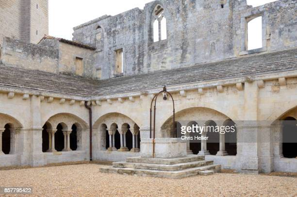 Cloister Montmajour Abbey Arles Provence