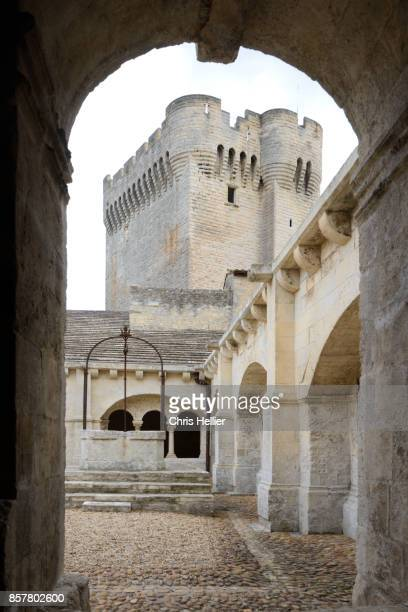 Cloister & Pons Tower Montmajour Abbey Arles Provence