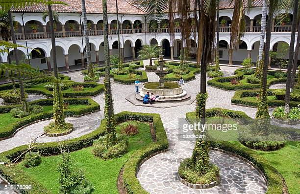 Claustro de San Francisco en Quito, Ecuador