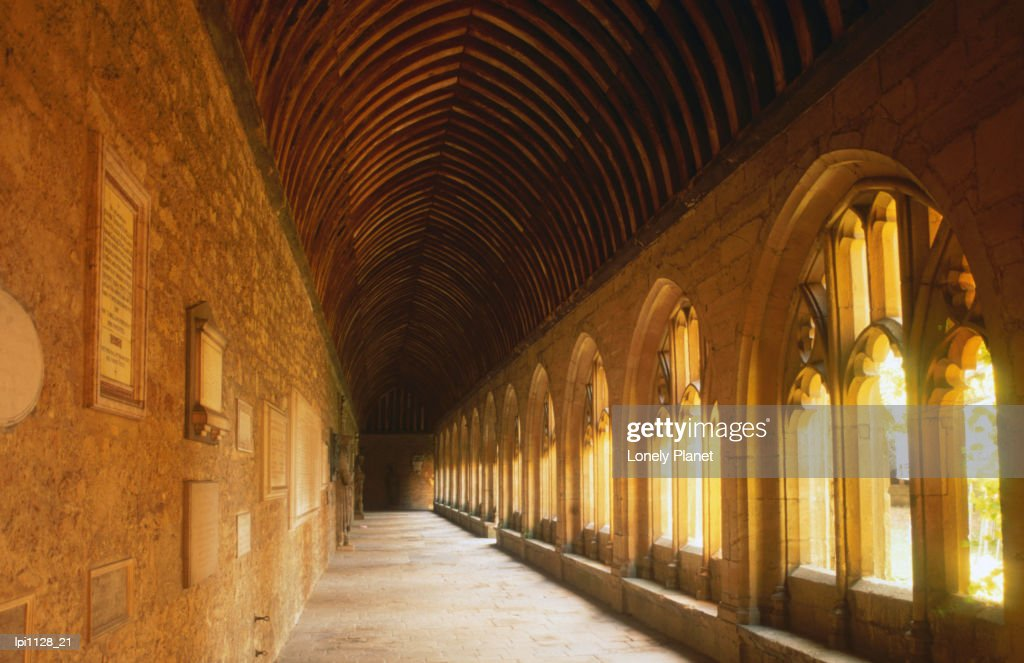 Cloisters of New College. : Stock Photo