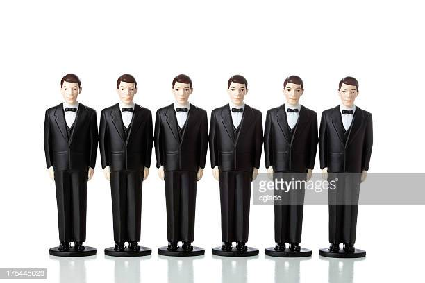 Clones Men in Suits