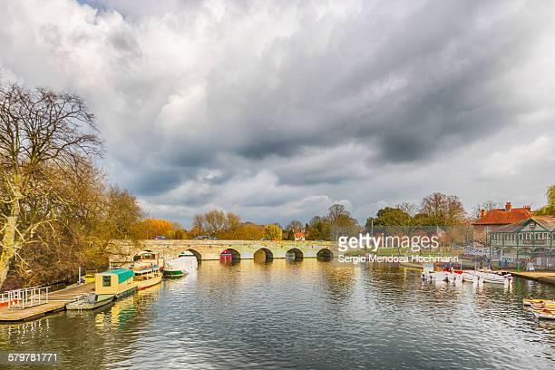 Clopton Bridge in Stratford-upon-Avon, UK