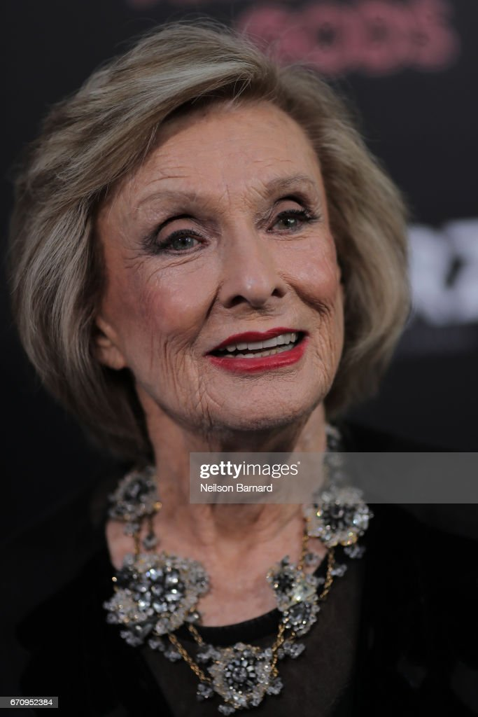 Cloris Leachman attends the premiere of Starz's 'American Gods' at the ArcLight Cinemas Cinerama Dome on April 20, 2017 in Hollywood, California.
