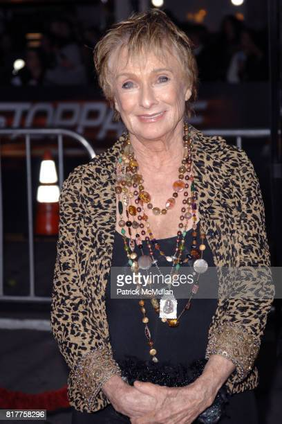 Cloris Leachman attends UNSTOPPABLE World Premiere at Regency Village Theatre on October 26 2010 in Westwood California