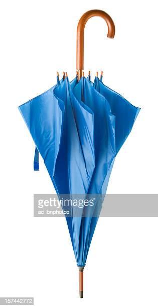 Proximité de blue parapluie (Tracé de détourage