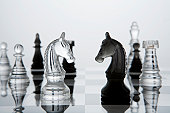 Close game of knight on chess board