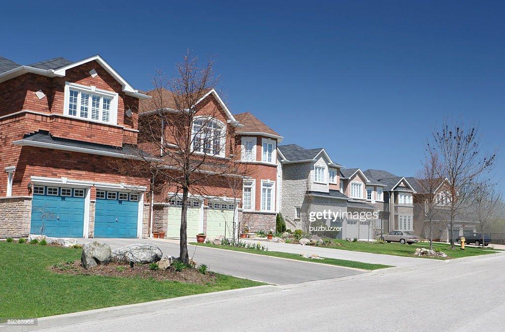 Close Neighborhood : Stock Photo