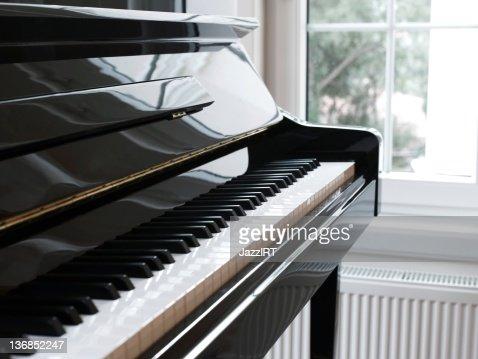 Close piano and keys