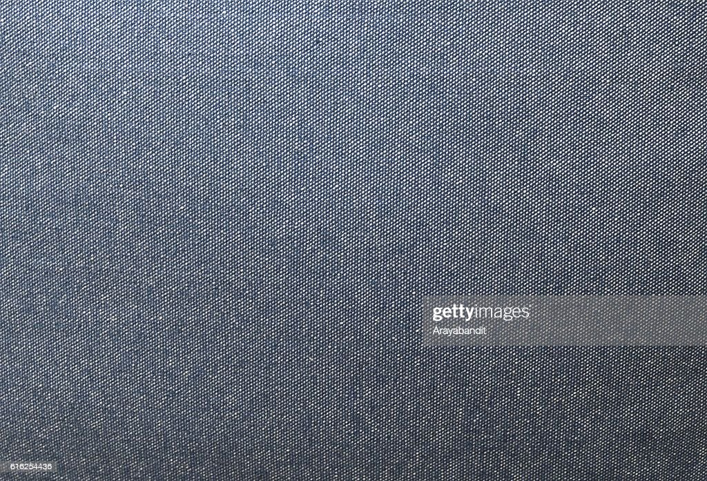 Close Up Background Pattern of Blue Denim Texture : Foto de stock