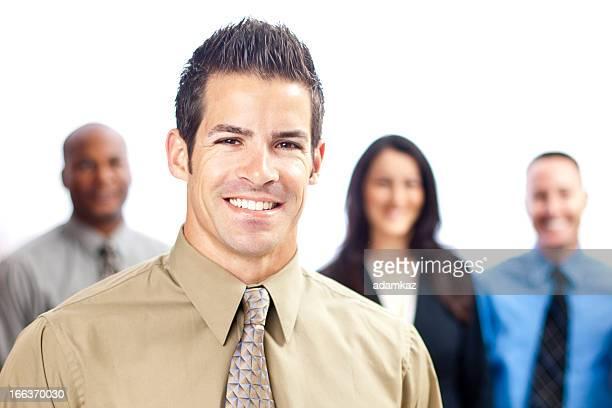 Close up Business Portrait