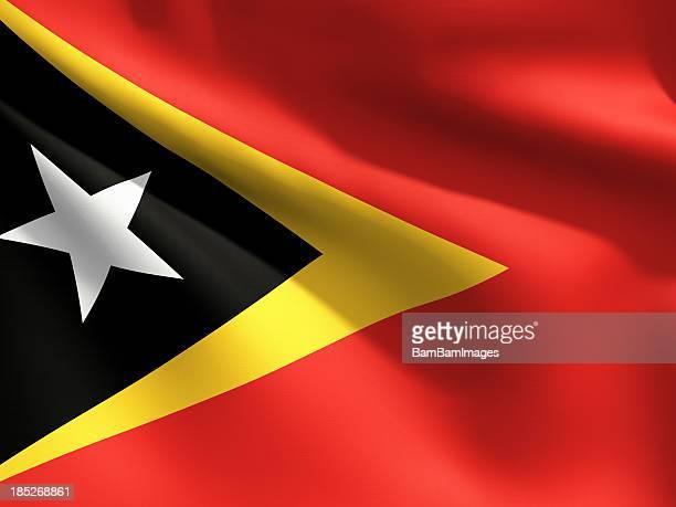 Close Up Flag - East Timor