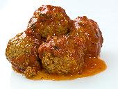 Close up Homemade Italian Meatballs