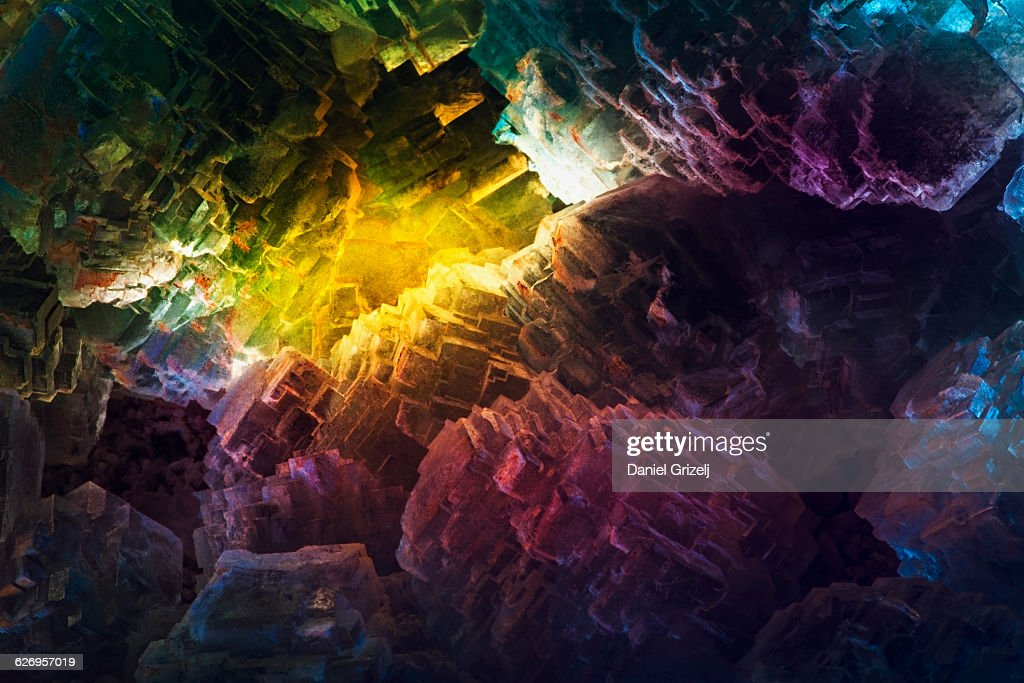 Close up image of crystal : Stock Photo