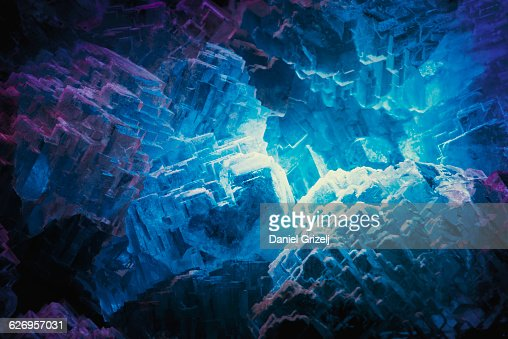 Close up image of crystal