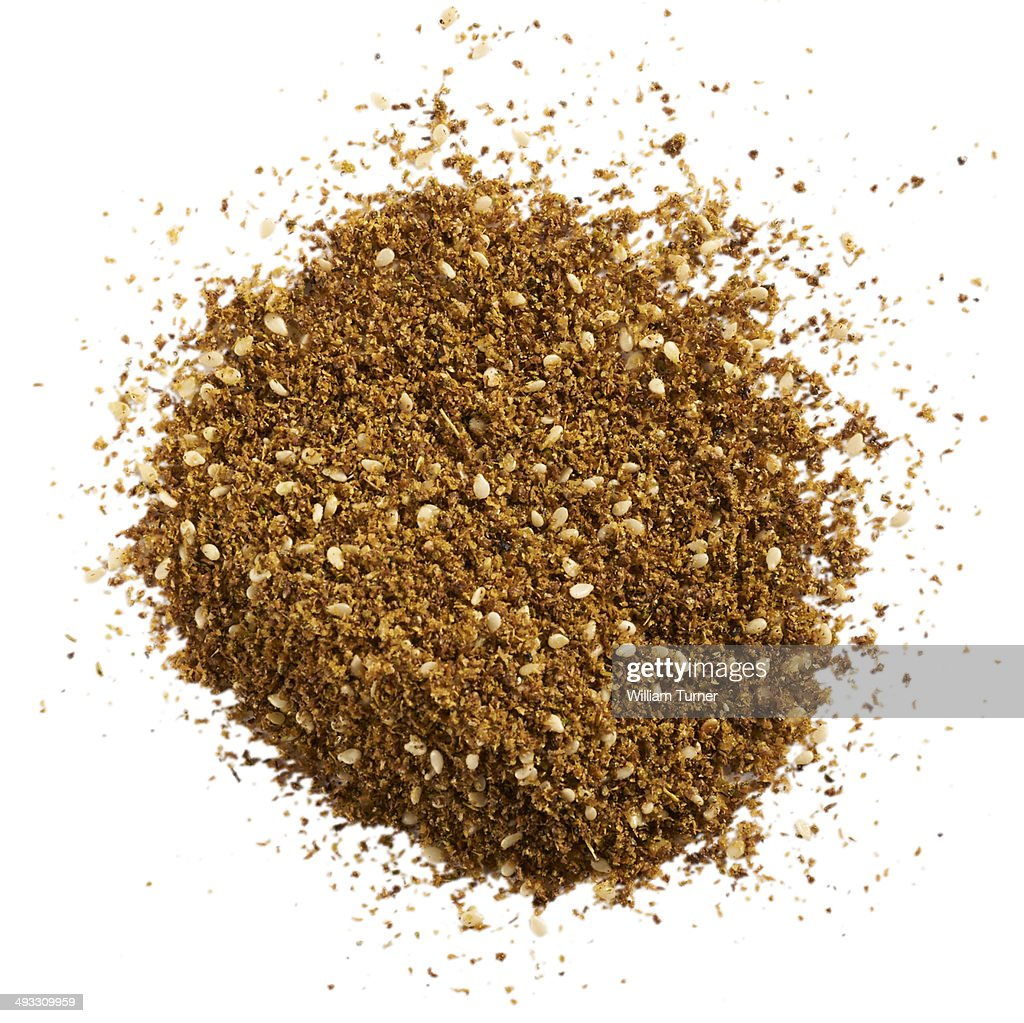 A close up image of za'atar spice.