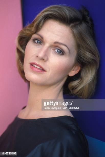 Close up Jeane Manson en juin 1983 a Paris France