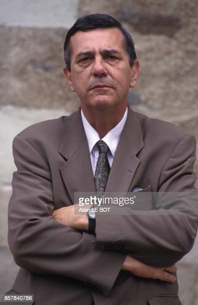 Close up JeanPhilippe Lecat ancien ministre de la Culture et membre d'un jury d'honneur pour la rehabilitation de Gilles de Raies le 13 juin 1992 a...