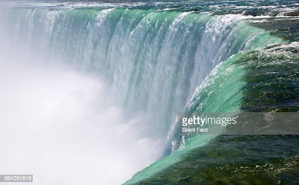 Close up Niagara falls