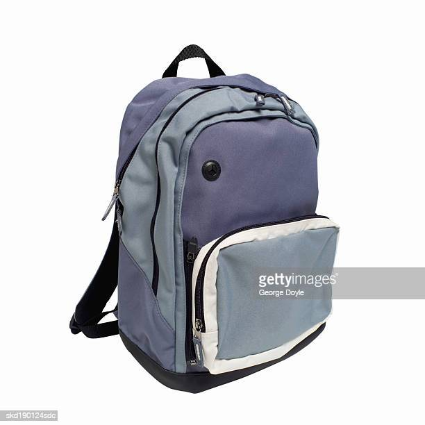 Close up of a backpack