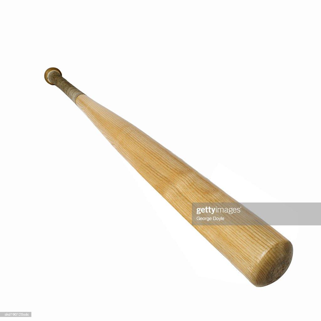 Close up of a baseball bat