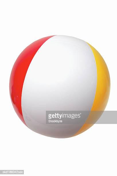 Close up of a beach ball