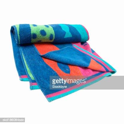 Close up of a beach towel : Stock Photo