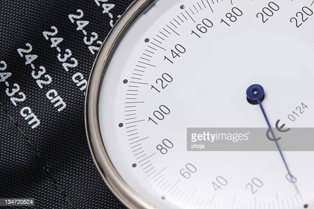 Nahaufnahme von einem Blut preassure Messgerät