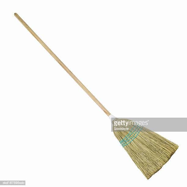 Close up of a broom
