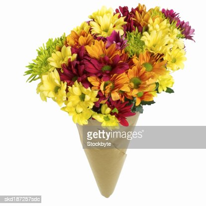 Close up of a bunch of flowers : Stock Photo