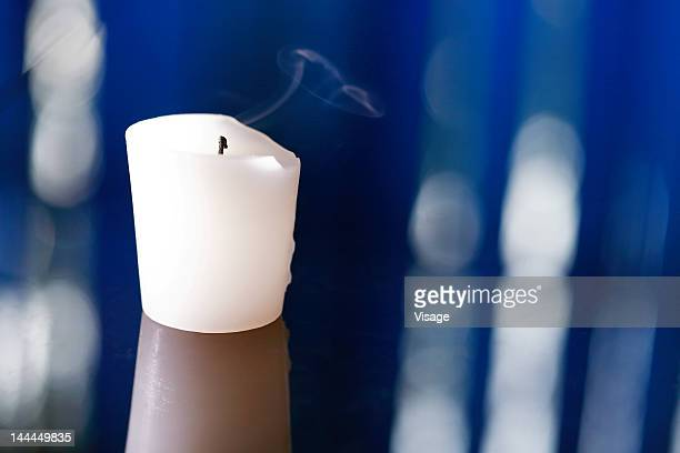 Close up of a candle