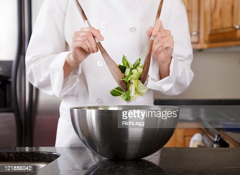 Close Up of a Chef's Hands