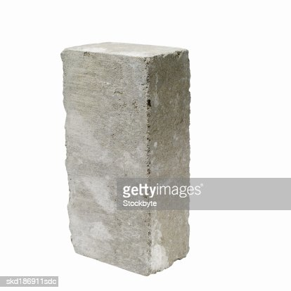 Close up of a concrete block : Stock Photo