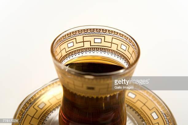 Close Up of a Cup of Arabic Coffee. Dubai, United Arab Emirates