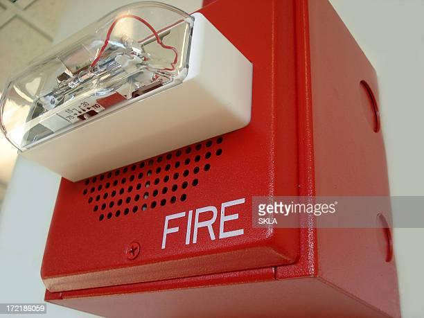 Red alarme incendie (gros plan