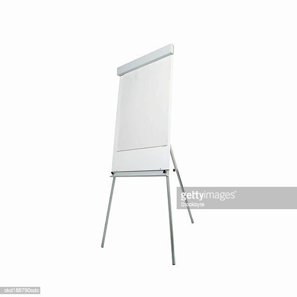 Close up of a flip chart whiteboard