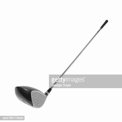 Close up of a golf club