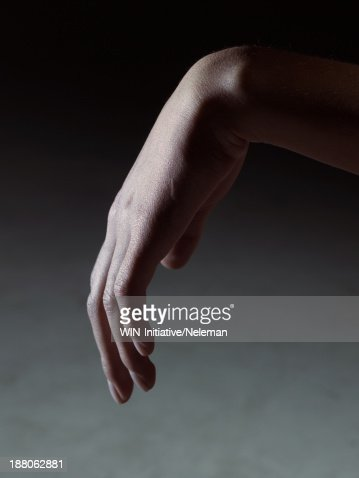 Close up of a hand