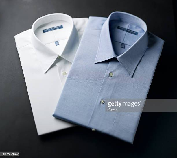 Close up of a mens shirts