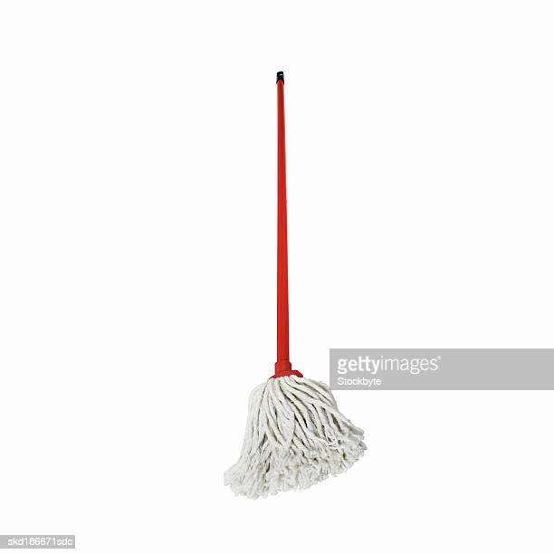 Close up of a mop