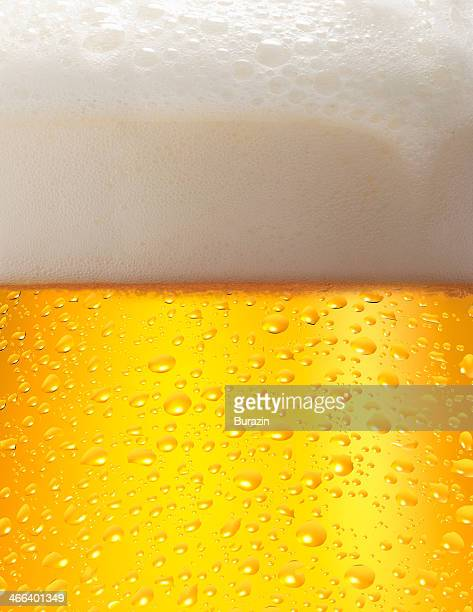 Close up of a mug of beer