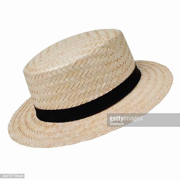 Close up of a panama hat