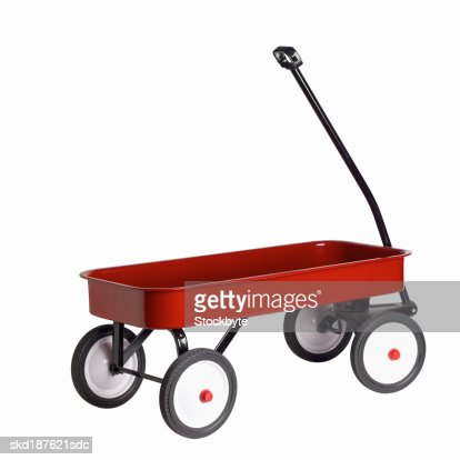Close up of a push cart
