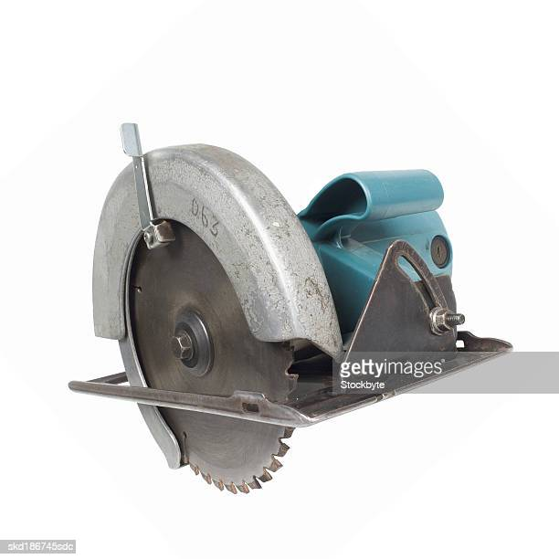 Close up of a saw
