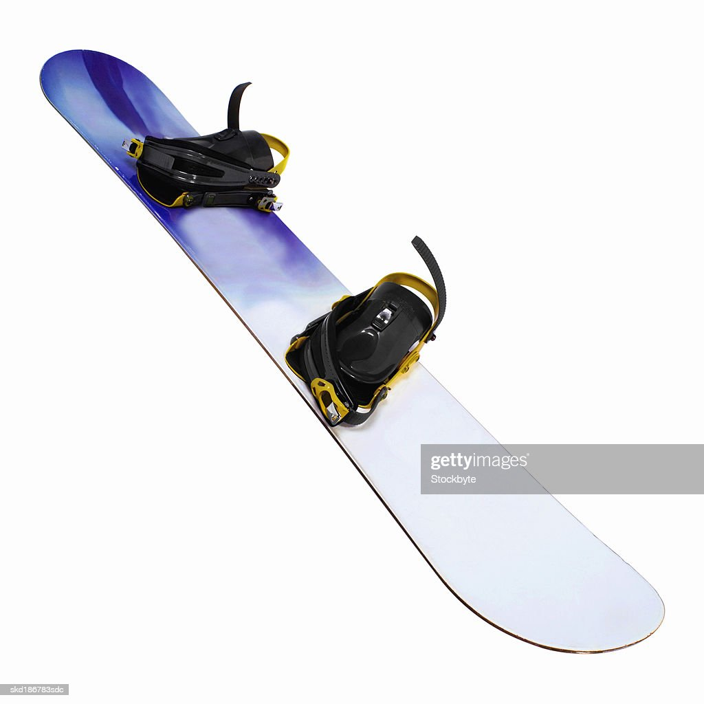 Close up of a snowboard : Stock Photo