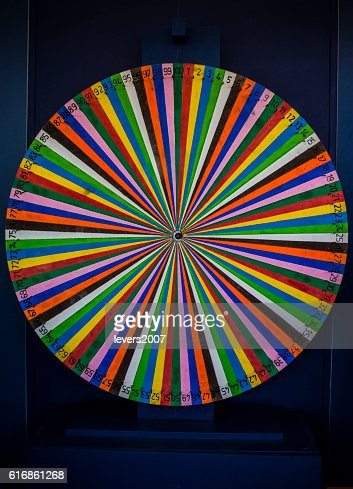 close up of a spinning wheel : Stock Photo