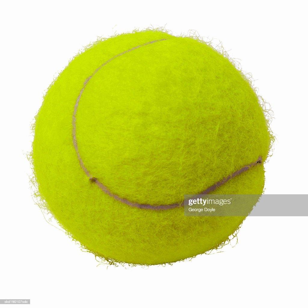 Close up of a tennis ball : Stock Photo