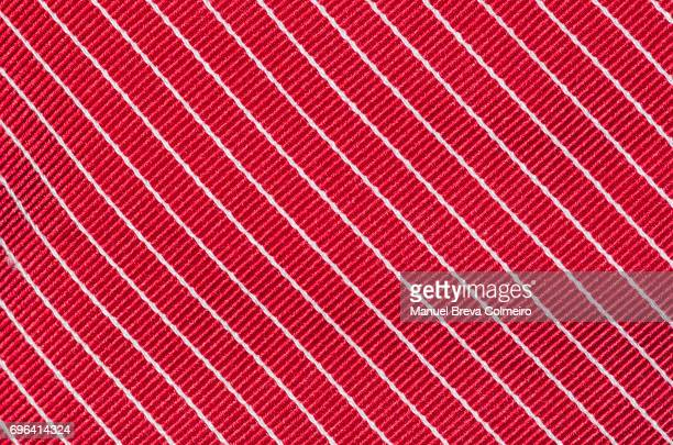 close up of a tie