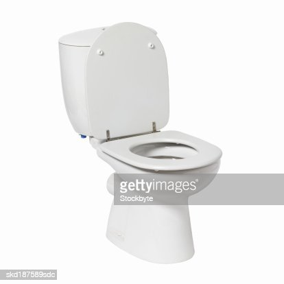 Close up of a toilet : Stock Photo