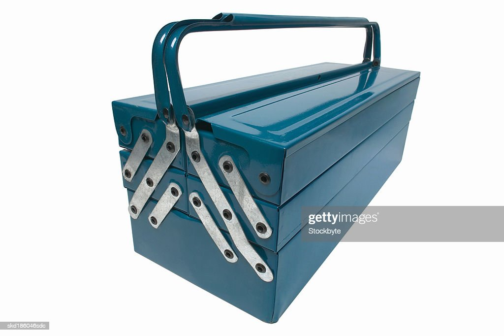 Close up of a tool box : Stock Photo